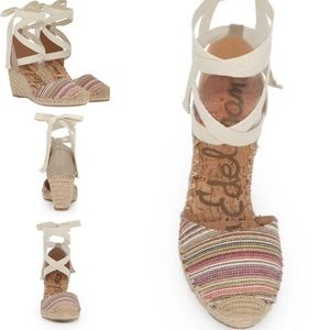 Sam Edelman Patsy Espadrille Wedge Shoe Sandal